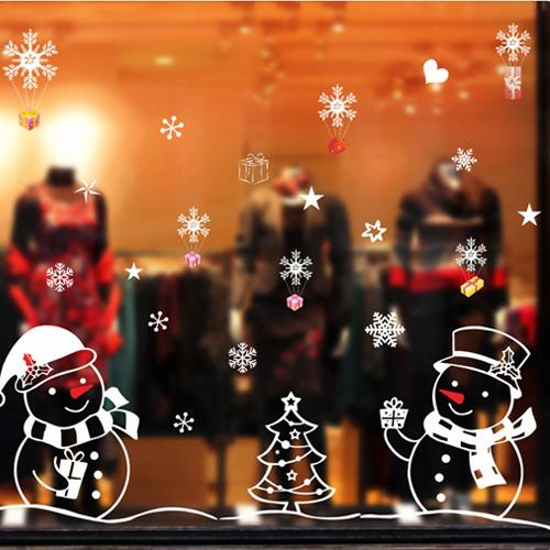 Decal Giáng Sinh 2  Người Tuyết