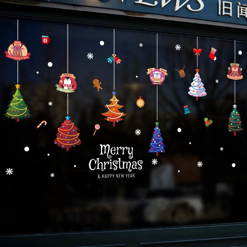 Decal Giáng Sinh – Dây Treo Cây Thông Noel