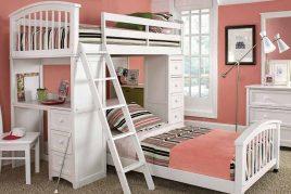 Phòng cho con trẻ với gam màu pastel nhẹ nhàng