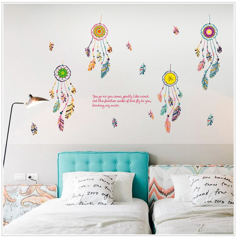Decal Dán Tường Dream Catcher 3