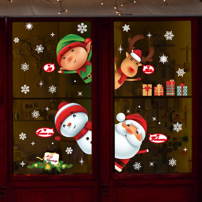 Decal Noel 2021 – Ông Già Noel Và Những Người Bạn – DGS83