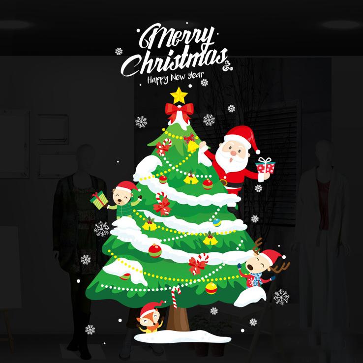 Decal Noel 2021 – Cây Thông Noel