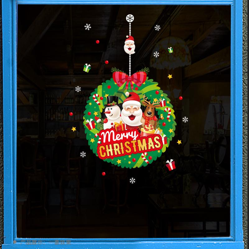 Decal Noel 2021 – Vòng Nguyệt Quế Giáng Sinh