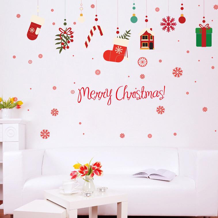 Decal Noel 2021 –  Dây Treo Phụ Kiện Giáng Sinh – DGS75