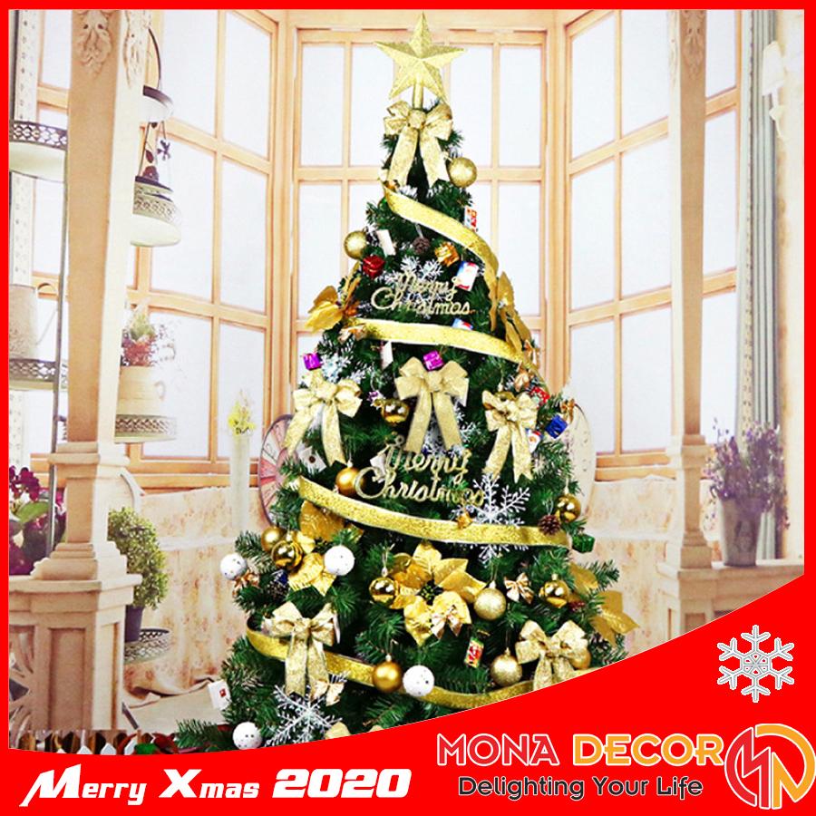 Cây Thông Noel 1m8 Đầy Đủ Phụ Kiện