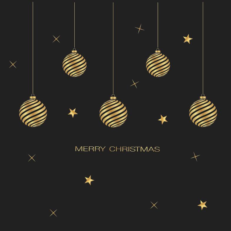 Decal Dây Treo Giáng Sinh Vàng – DGS54