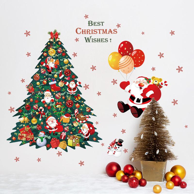 Decal Noel 2021 – Cây Thông Noel – DGS77