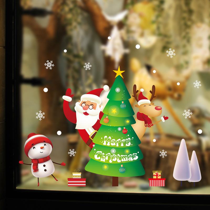 Decal Noel 2021 –  Cây Thông Noel – DGS79