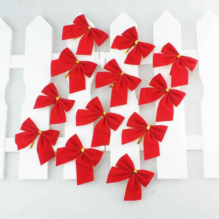 Nơ Nhỏ Trang Trí Cây Thông Noel ( Nhiều màu)
