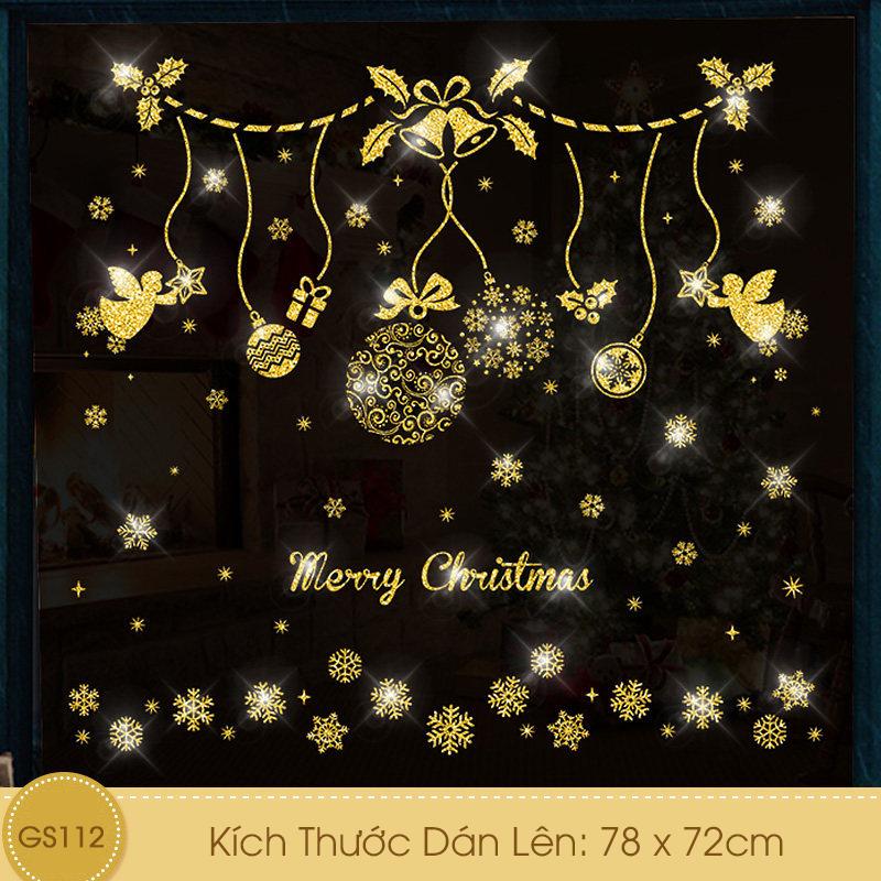 Decal Giáng Sinh Dây Treo Thiên Thần