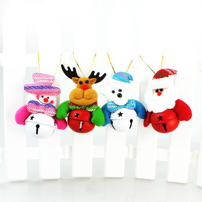 Chuông Búp Bê Treo Cây Thông Noel